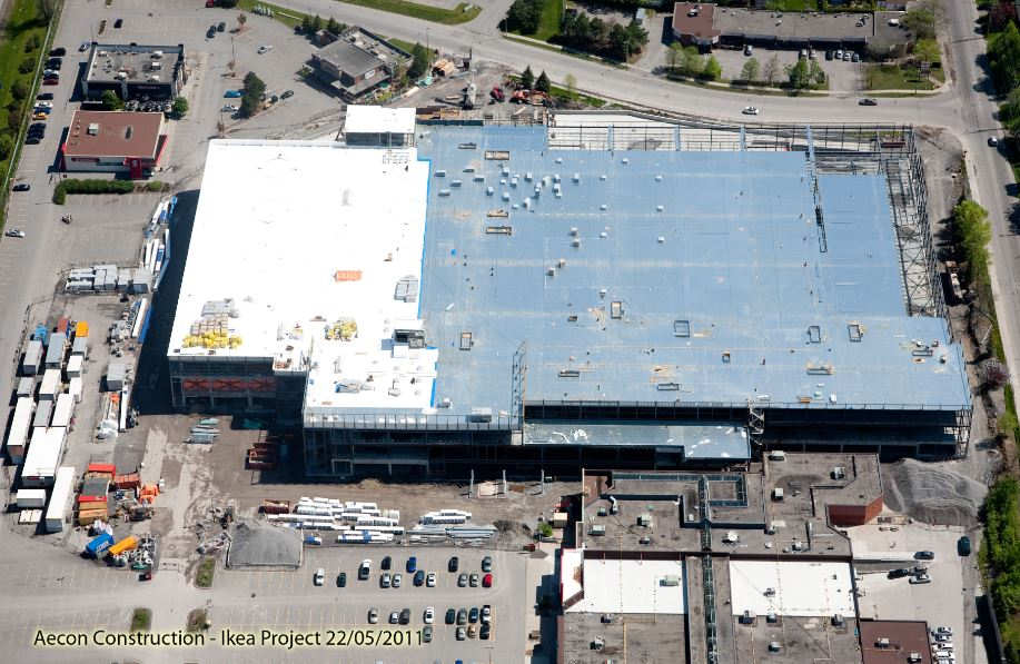 Ikea Ottawa domination Steel structural 1
