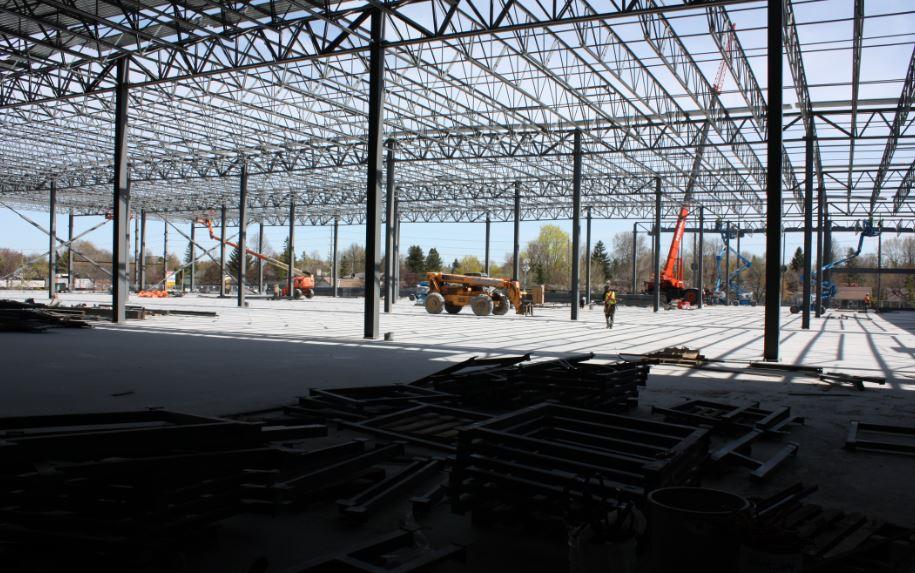 Ikea Ottawa domination Steel structural 2
