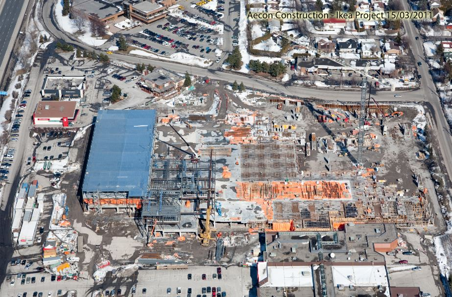 Ikea Ottawa domination Steel structural