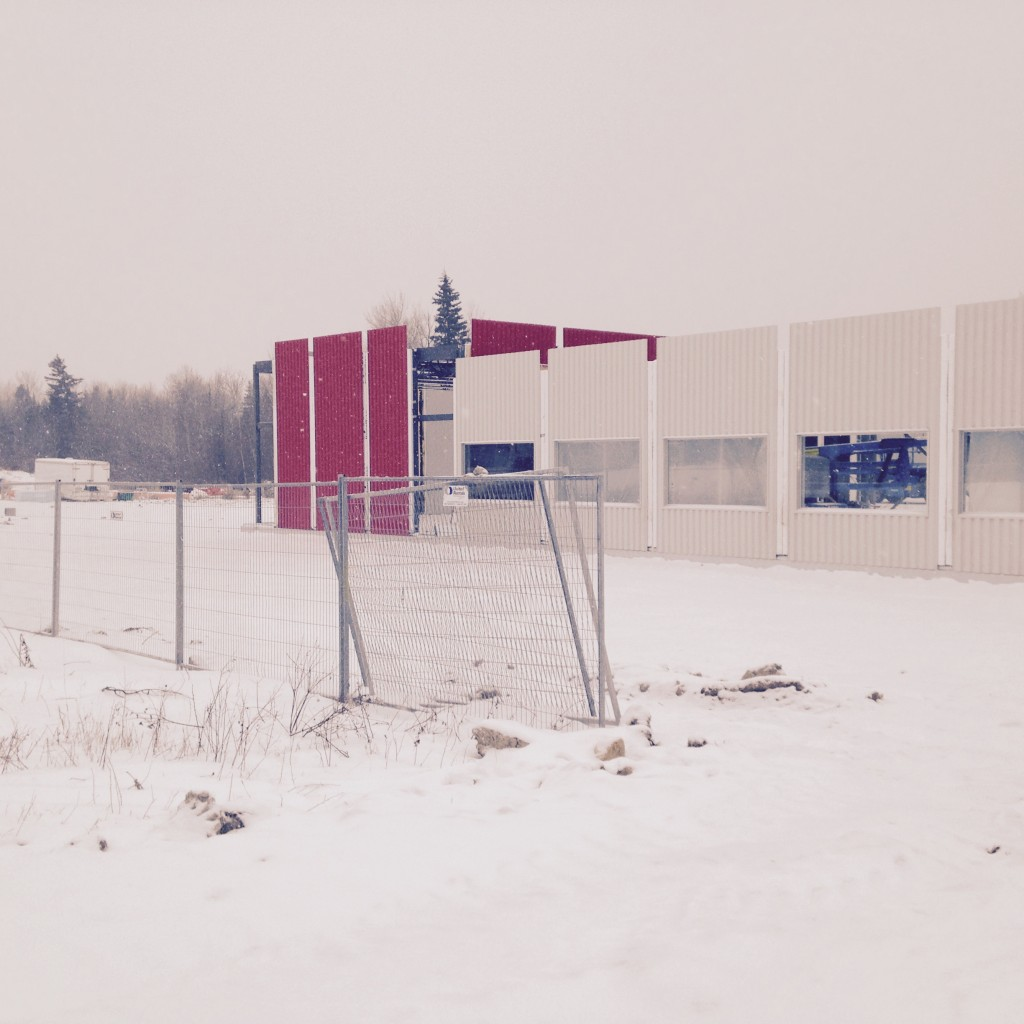 Bingo Hall, Wabigoon, Ontario, domination steel erectors